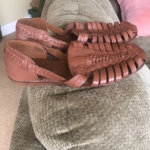 ASOS gladiator flats, never been worn